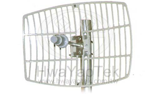 53GHz Square Grid Parabolic Antenna 24dBi GA 5300 24 01